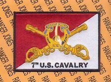 """7th US Cavalry Regiment """"GARRY OWEN"""" pocket patch"""