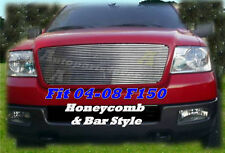 04-08 2007 2008 Ford F-150 F150 New Billet Grille 1PC