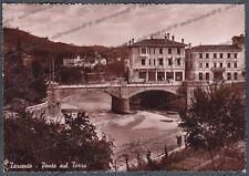 UDINE TARCENTO 08  PONTE Fiume TORRE Cartolina FOTOGRAFICA viaggiata 1949