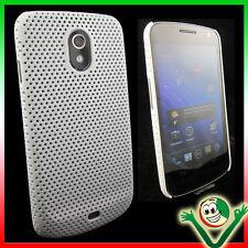 Pellicola+Custodia GRID BIANCA per Samsung Galaxy Nexus I9250 cover sottile