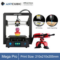 Anycubic Mega Pro 3D Printer Laser Engraving 2 in 1 High-precision Quiet Drive