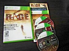 Rage Anarchy Edition Microsoft Xbox 360 Complete CIB VERY Fast Shipping World!!!
