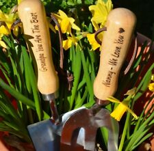 Personalised Garden Tools Grandpa Dad Mom Father Uncle Man Present Gift Fathers