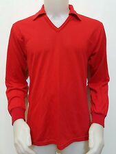 MAGLIA CALCIO PORTIERE GOALKEEPER VINTAGE CORSAR TG.50 N.1 MAILLOT OLD STYLE P61