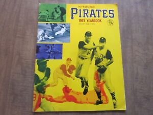 1967 Pittsburgh Pirates Team Issued Baseball Yearbook