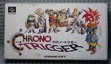 Chrono Trigger - Super Famicom Nintendo SNES JAP - Boite & Notice