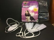 Angel Dog Costume ONE SIZE FITS MOST Wings Halo Hat~PreOwned in Original Package