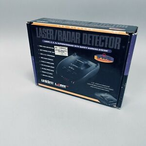 Deadstock LRD 6100SWS Uniden Laser Radar Detector Superwideband SWS Box Manual