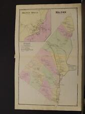 New Hampshire, Strafford County Map, 1871, Town of Milton N5#32