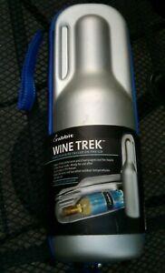 Metrokane Rabbit Wine Trek Portable Wine Bottle Cooler with Chiller Wrap New