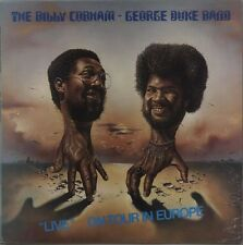 THE BILLY COBHAM GEORGE DUKE BAND Live - On Tour In Europe 1976 UK vinyl LP EXCE