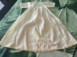 Antique CUTE SIMPLE DESIGN VICTORIAN doll Dress for your  doll No 60
