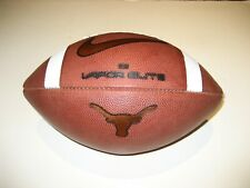 2019 Texas Longhorns GAME BALL Nike Vapor Elite Football - UNIVERSITY