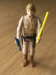 Vintage Kenner Star Wars - Loose Figure - 1980 ESB - Luke (Bespin) Brown Hair