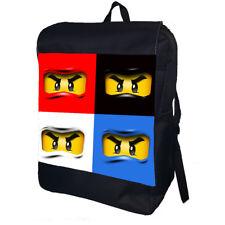 Lego Ninja Personalised School College Shoulder Bag Backpack