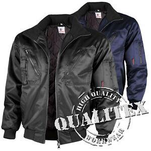 Qualitex Pilotenjacke Herren Arbeitsjacke Winterjacke Jacke Berufsjacke