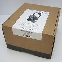 Plantronics Voyager UC Focus B825 Bluetooth Headband PC Headset with Desk Stand