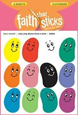 JOLLY JELLY BEANS STICK-N-SNIFF (FAITH THAT STICKS) By Tyndale **BRAND NEW**