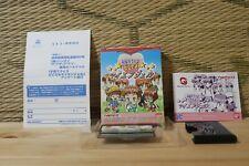 Dokodemo My Angel Kosodate Quiz Complete Set! WonderSwan WS Japan VG+!