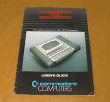 Commodore 1531 DATASETTE User's Guide inglese-MANUAL ENGLISH