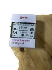 Idec RSSAN-25A Solid State Relay, 25A, 90-280VAC 48-660vac Load