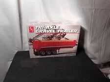 Model Semi Kit Tri-Axle Gravel Trailer