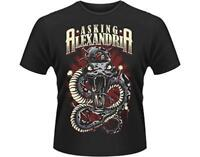 OFFICIAL LICENSED - ASKING ALEXANDRIA -  POISON T SHIRT METAL