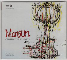 Mansun - Closed For Business CD single CD1 digipak