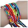2X(40Pcs Jewelry Tresses Bracelets Friendship Bracelets Handmade Cords U2A7))AN