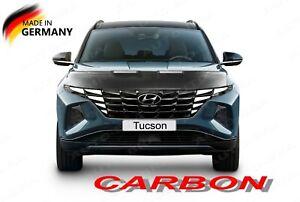 CARBON LOOK BONNET BRA fits Hyundai Tucson since 2020 STONEGUARD PROTECTOR