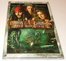 Pirates of the Caribbean: Dead Man's Chest  (DVD, 2006, 2-Discs Special) WS  NEW