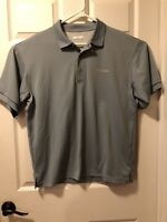 MENS Columbia PFG Fishing Hunting Omni Shade POLO GOLF SHIRT Sz Medium