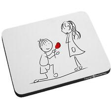 Beegeetees Marry Me? Mouse Pad - Happy Valentines Day Gift® MarryMe-MP