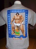 VINTAGE VIRTUA  FIGHTER 3 TAKAARASHI gameworks apparel SHIRT SEGA medium