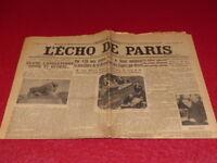 [PRESSE WW2 AVANT GUERRE] L'ECHO DE PARIS#20521 24 DECEMBRE 1935 Procès Stavisky