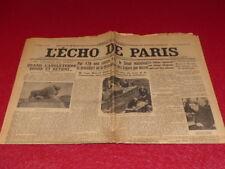 PRESS WW2 AVANT GUERRE THE ECHO DE PARIS#20521 24 DECEMBRE 1935 Procès Stavisky