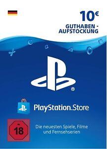 PlayStation Network Card 10 EUR Deutschland PSN Code Email Lieferung