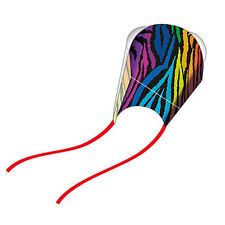 WindNSun Pocket Kite - Nylon, Frameless Kite in a Pouch, Ready to Fly! - Stripes