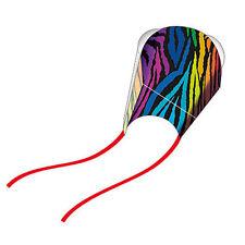 WindNSun Pocket Kite - Nylon, Frameless Kite in a Pouch, Ready to Fly! - Stripes
