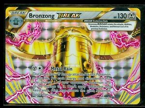 Pokemon BRONZONG BREAK 62/124 - XY Fates Collide - RARE HOLO - MINT