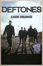 DEFTONES Gore Tour 2016 Ltd Ed RARE Poster +FREE Rock Poster! CODE ORANGE