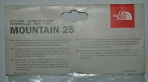 The North Face mountain 25 Footprint Tent Base Brand New