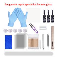 24In1 Car Glass Long Crack Repair DIY Tools Windshield Windscreen Recovery Kits