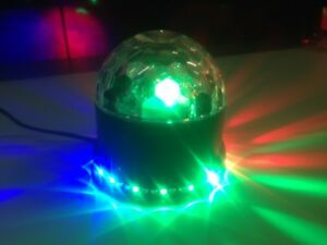 MOONFLOWER FARO 50 LED RGB FESTE DISCOTECA KARAOKE EFFETTI LUCE DJ MULTICOLORE