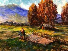 W.H. Unger - Im Murnauer Moos - Öl-Gemälde auf Leinwand 70x50cm