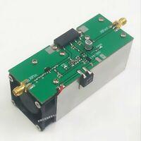 433MHZ 350-480MHZ 13W UHF RF Radio Power Amplifier AMP with Heatsink Fan
