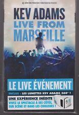 COFFRET DVD KEV ADAMS LIVE FROM MARSEILLE