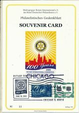 USA 2005 ROTARY 100th ANNIVERSARY CHICAGO CONVENTION S/LEAF