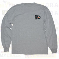 PHILADELPHIA FLYERS Official REEBOK Mens NHL Long Sleeve T-Shirt