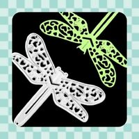 Metal Cutting Die - DRAGONFLY - 7cm x 6cm - Stencil - Embossing- Crafting - UK!
